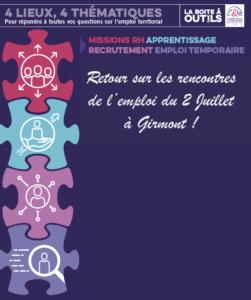 3ème édition des Rencontres de L'emploi à Girmont!