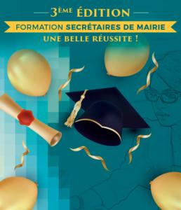 Formation Secrétaire de mairie 3ème édition : une nouvelle réussite!