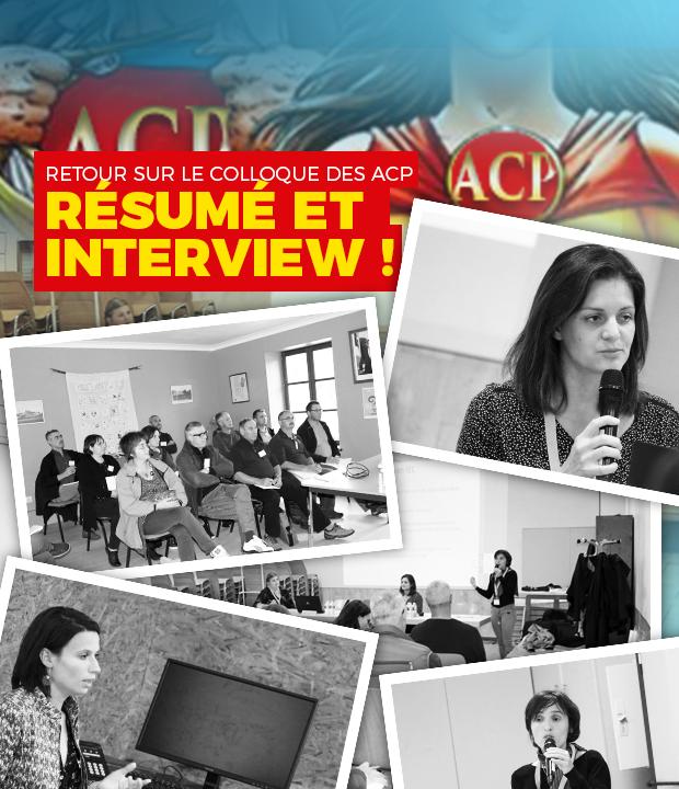 RETOUR SUR : Le Colloque «Mon Quotidien d'ACP» du 26 Septembre 2019