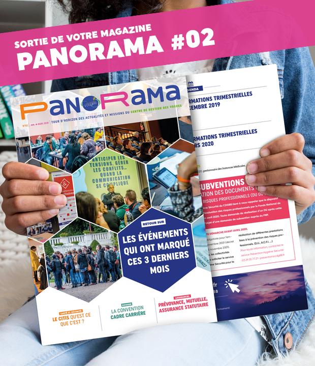 PanoRama #2 vient de sortir ! Consultez le dans cet article !