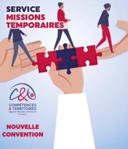 Découvrez dans cet article la nouvelle convention des Missions Temporaires du CDG88 !