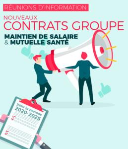 RÉUNIONS D'INFORMATION CONTRATS GROUPE
