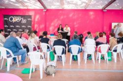 Mmes Hochard et Grasser-Chambre intervenant sur l'atelier