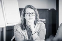 """Mme Sarah Ben-Ismail lors de l'atelier """"Actualités du pôle Carrières et Instances Paritaires"""""""