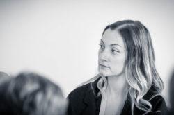"""Mme Émilie Karm intervenante de l'atelier """"Actualités du pôle Carrières et Instances Paritaires"""""""
