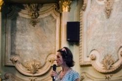 Mme Murielle Nique intervenant lors de la conférence « le manager du futur : êtes-vous prêts? »