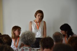 """Mme Aline Aubert, intervenante dans l'atelier """"Résultats retenus en prévoyance et mutuelle santé"""""""