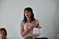 """Mme Sophie Gelas, intervenante dans l'atelier """"Résultats retenus en prévoyance et mutuelle santé"""""""