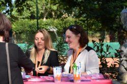 Mmes Amandine Bourgeois et Audrey Jeanvoine pour l'accueil des participants