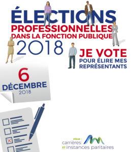 RESULTATS  ELECTIONS  PROFESSIONNELLES 6/12/2018