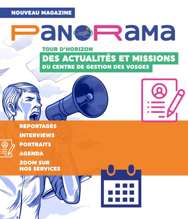 PANORAMA: lancement du journal du CDG88