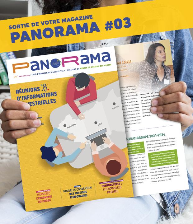 PanoRama #3 vient de sortir ! Consultez-le dans cet article !