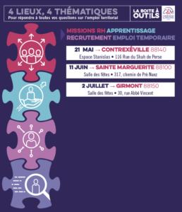 CDG88 : rencontres thématiques de l'emploi public !
