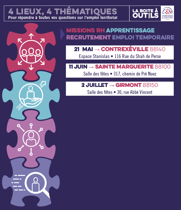 CDG88 : rencontres thématiques de l'emploi public !»