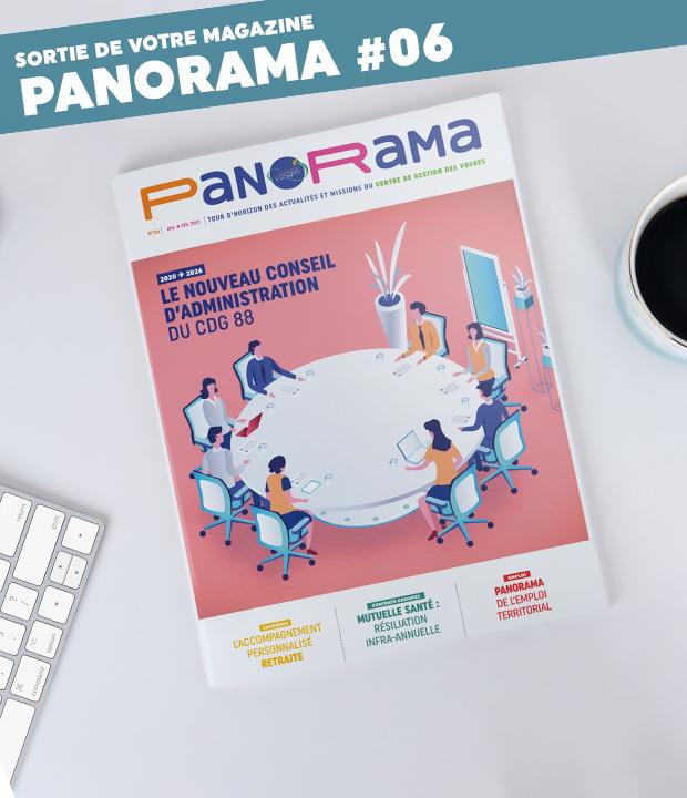 PanoRama #6 vient de sortir ! Consultez-le dans cet article !