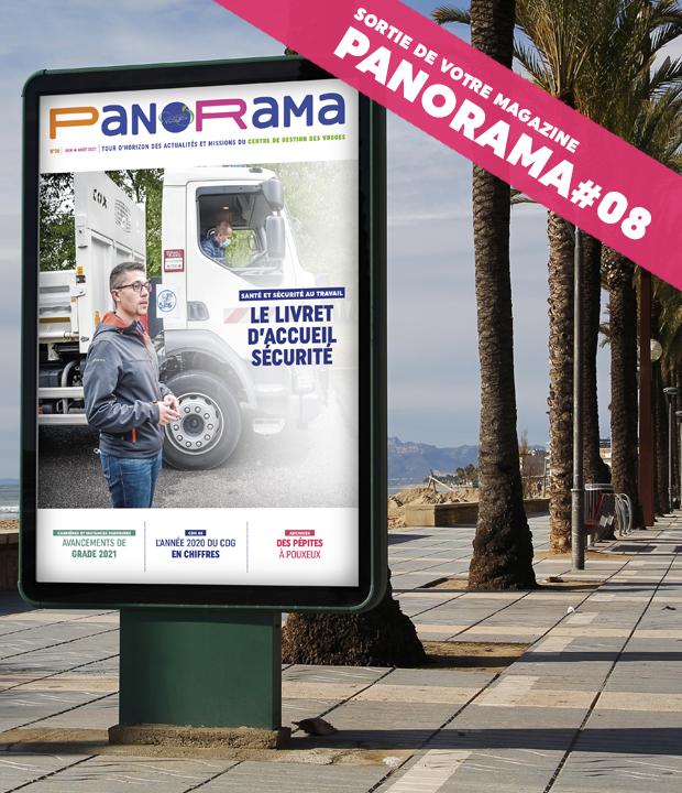 PanoRama #8 est là ! Consultez-le dès à présent !