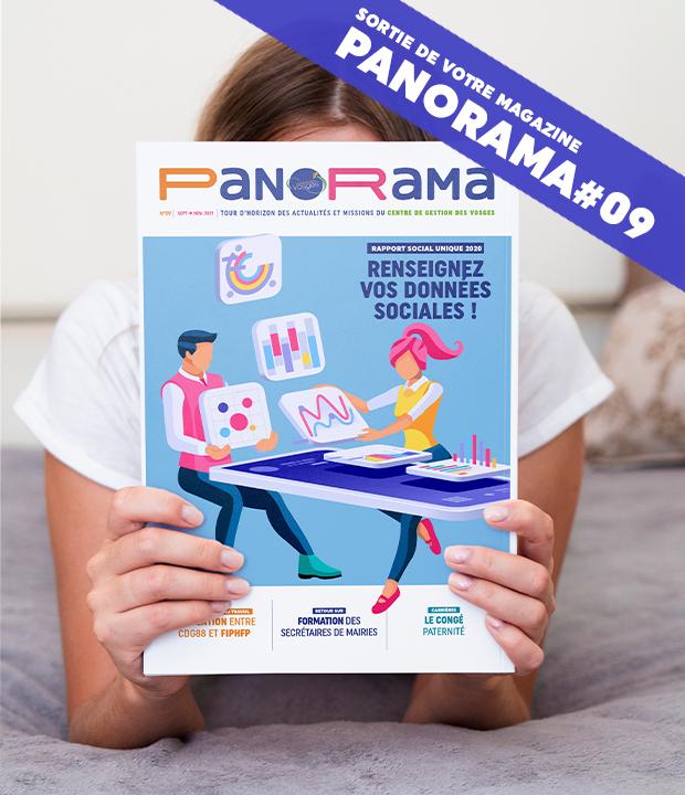 PanoRama #9 est là ! Consultez-le dès à présent !