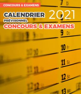 Le calendrier prévisionnel des concours 2021 est disponible !   CDG 88
