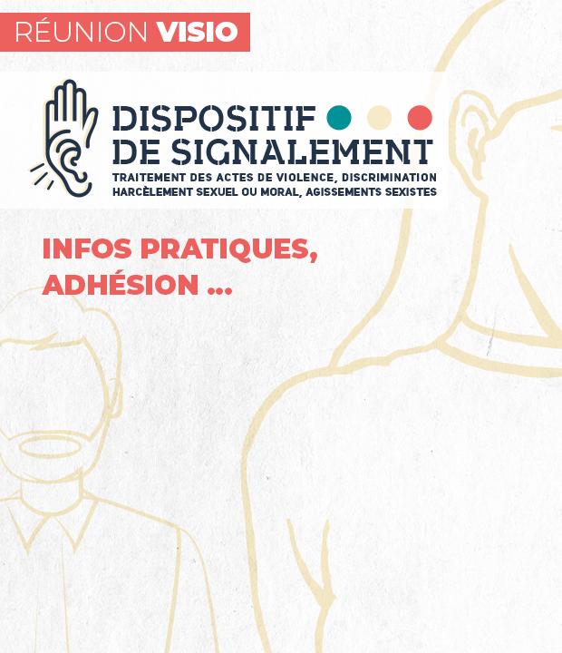 Dispositif de Signalement : 26 janvier 2021 – réunion d'info en visio de 9h15 à 10h15