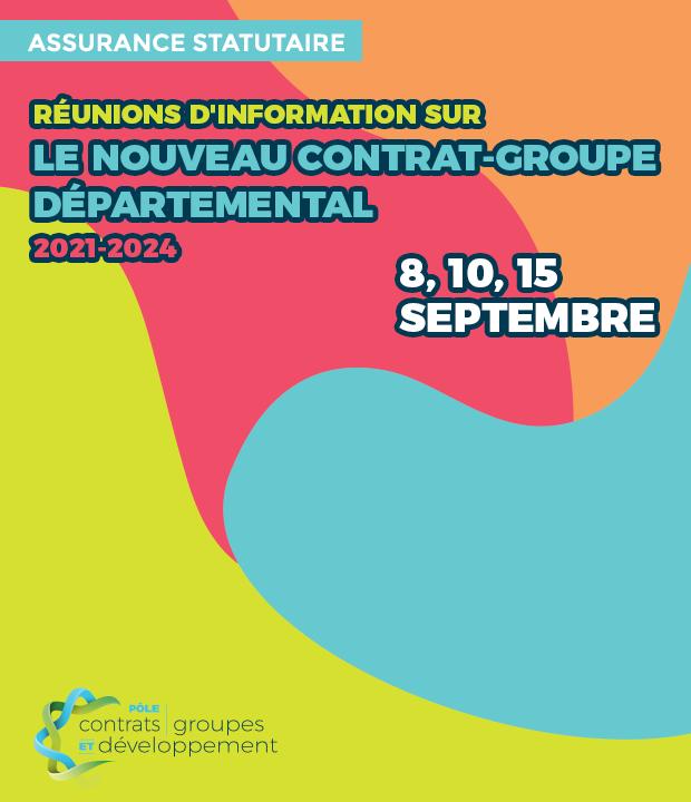Assurance statutaire 2021-2024 : inscrivez-vous aux réunions d'information !